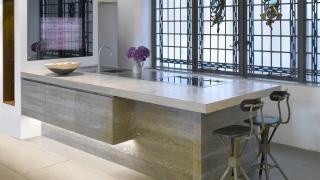 Natural Grey Concrete Countertop 3 -