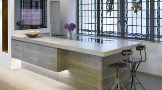 Natural Grey Concrete Countertop 3 -